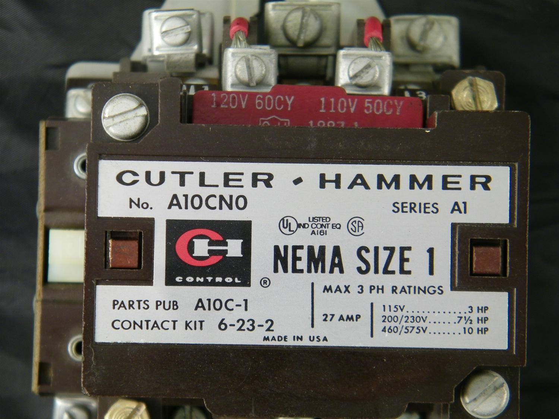 A10CNO A10CN0 CUTLER    HAMMER