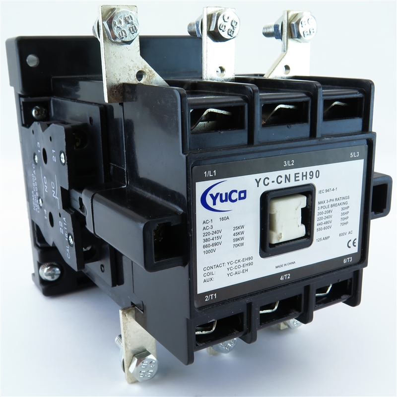 Yuco yc cn eh90 5 460 480v ac magnetic contactor for Abb motor starter selection tool